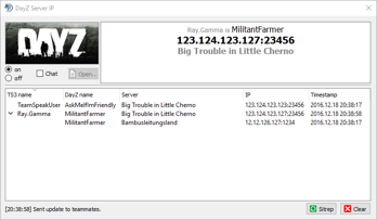 DayZ Server IP
