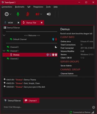teamspeak server group icons missing