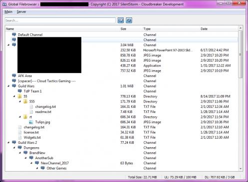 Global Filebrowser