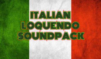 Italian Loquendo Soundpack