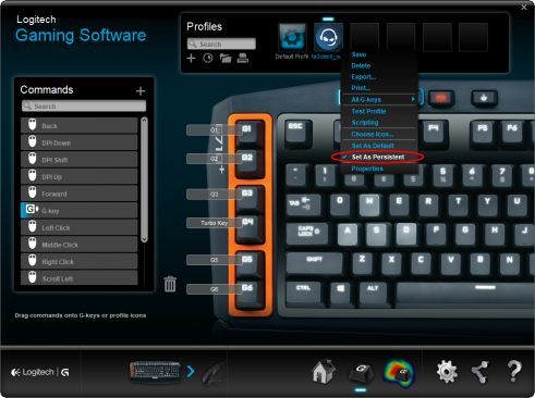 Logitech G-Key Plugin