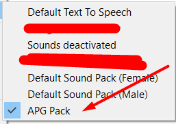 Arabic SoundPack - (Funny Accent)