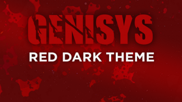 NK-Genisys | Red Dark Theme