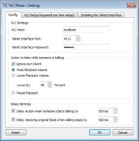 VLC Muter