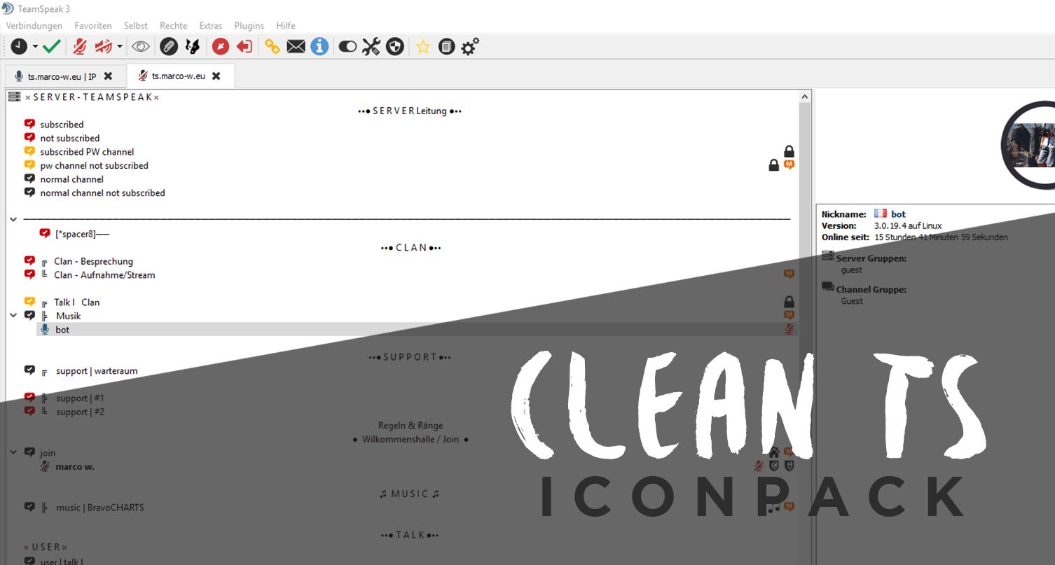 Clean TS IconPack