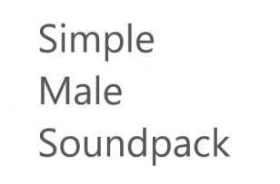 Kelvidore's Male Soundpack